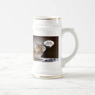 Gourmet Chef Chipmunk Picture Coffee Mugs