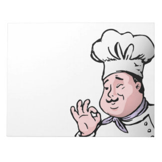 GOURMET CHEF NOTEPAD