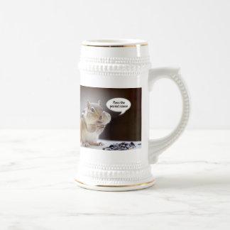 Gourmet Chef or Cook Chipmunk Photo Coffee Mugs