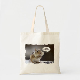 Gourmet Chef or Cook Chipmunk Photo Tote Bag