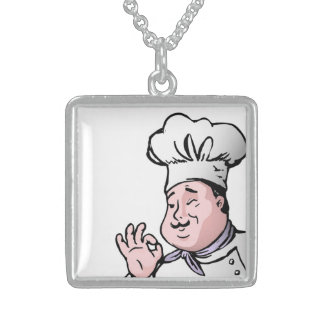 GOURMET CHEF STERLING SILVER NECKLACE