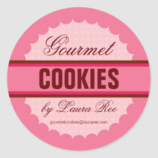 Gourmet Cookie Sticker
