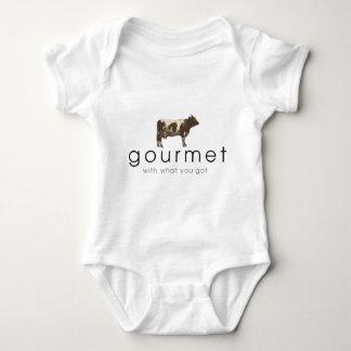 Gourmet Cow Baby Bodysuit