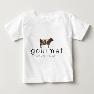 Gourmet Cow Baby T-Shirt