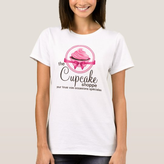 Gourmet Cupcake Bakery Custom Tee-shirt T-Shirt
