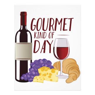 Gourmet Day Letterhead