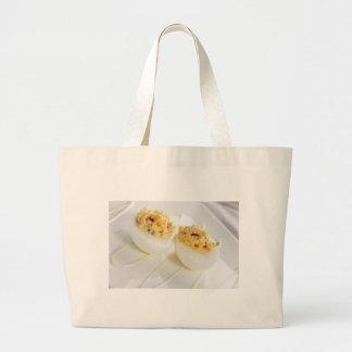 Gourmet Deviled Eggs Cloth Shopping Bag
