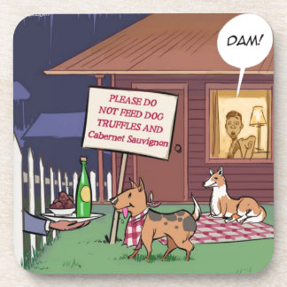 Gourmet Dogs Funny Coaster
