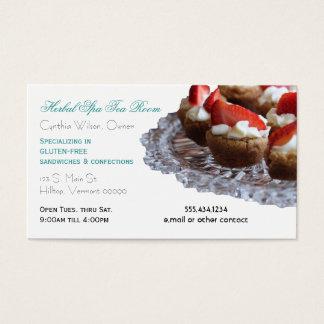 Gourmet Eatery Food Service Custom Business Card