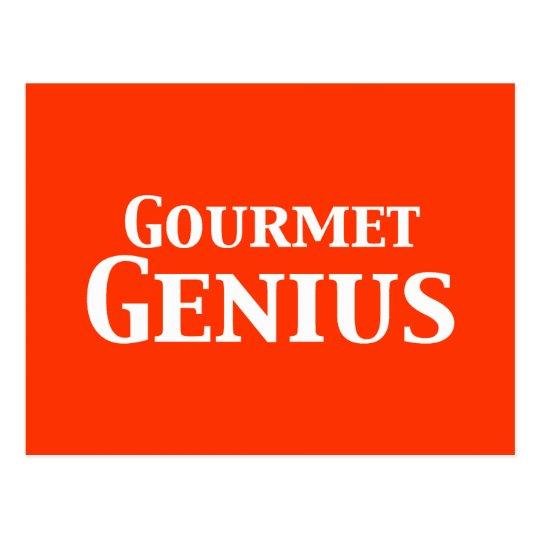 Gourmet Genius Gifts Postcard