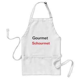 Gourmet Schourmet apron