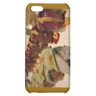 Gourmet Sushi Plate Fine Art Gifts Mugs Etc iPhone 5C Cover