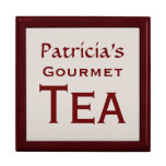 Gourmet Tea Box Trinket Box
