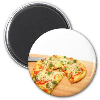 Gourmet Veggie Pizza Magnet