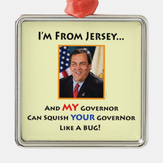 Gov. Chris Christie Collectible Ornament