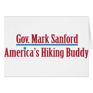 Gov. Mark Sanford Greeting Card