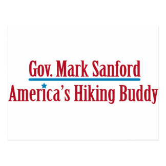 Gov. Mark Sanford Postcards