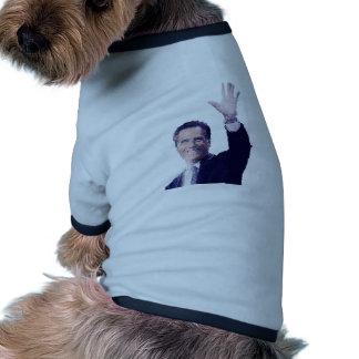 Gov. Mitt Romney Dog Tee Shirt