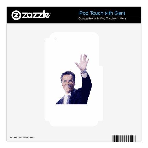 Gov. Mitt Romney iPod Touch 4G Decal