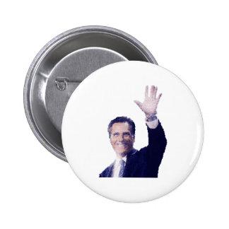 Gov. Mitt Romney Pinback Button