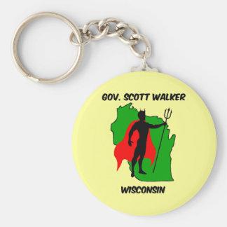 Gov Scott Walker Keychain