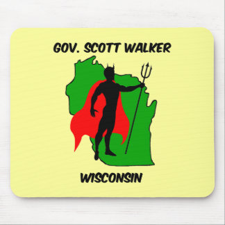 Gov Scott Walker Mouse Pad