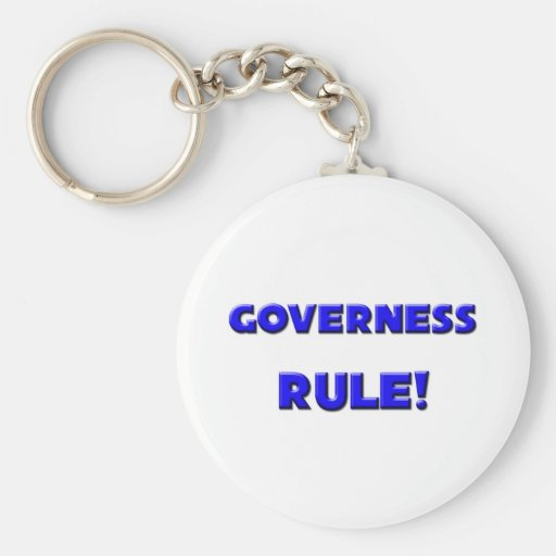 Governess Rule! Keychain
