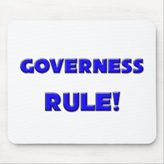 Governess Rule! Mouse Pads