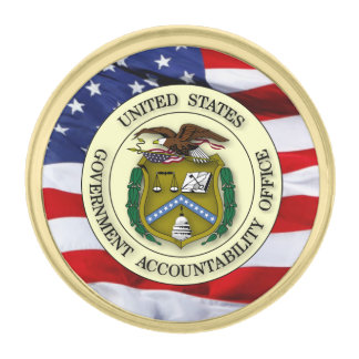 Government Accountability Office Shield Lapel Pin