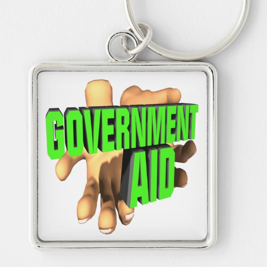 Government Aid Keychain