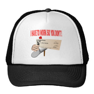 Government Check Trucker Hats