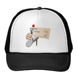 Government Check Trucker Hat