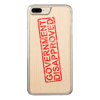 Government disapproved 2 carved iPhone 8 plus/7 plus case