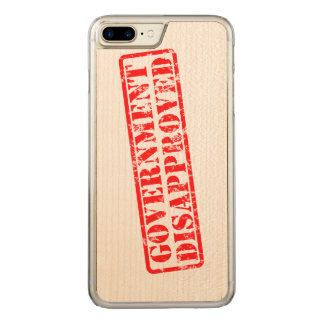 Government disapproved carved iPhone 7 plus case