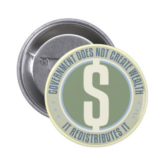 Government Does Not Create Wealth Button