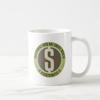 Government Does Not Create Wealth Coffee Mug