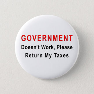 Government Doesn't Work Button
