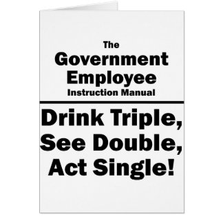 government employee card