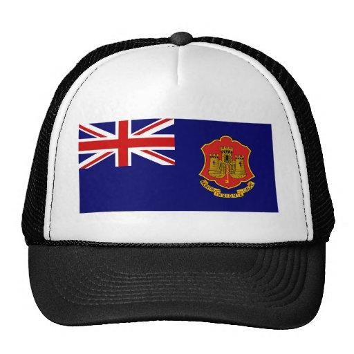 Government Ensign Of Gibraltar, United Kingdom Mesh Hat