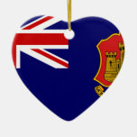Government Ensign Of Gibraltar, United Kingdom Christmas Ornament