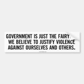 Government Fairytale Bumper Sticker