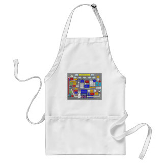 Government Health Care System Adult Apron