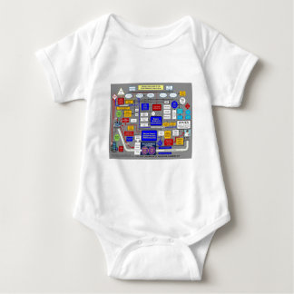 Government Health Care System Baby Bodysuit