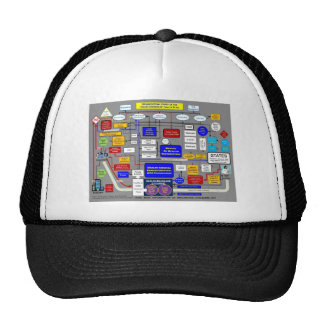 Government Health Care System Trucker Hat
