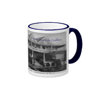 Government House, Plymouth, Montserrat Ringer Mug