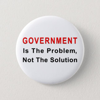 Government Is The Problem Button