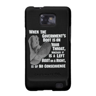 Government Jack Boot On Your Neck Galaxy S2 Cases