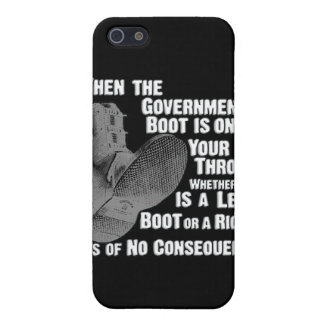 Government Jack Boot On Your Neck Case For iPhone 5