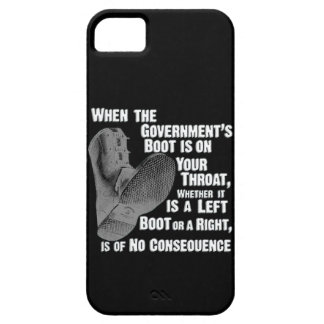 Government Jack Boot On Your Neck iPhone 5 Cases