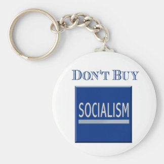 Government Motors - Don't Buy Socialism Key Ring Keychain